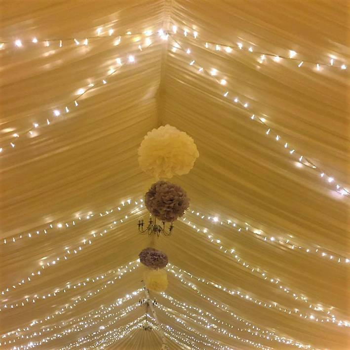 showequip wedding and event hire indoor fairy lights