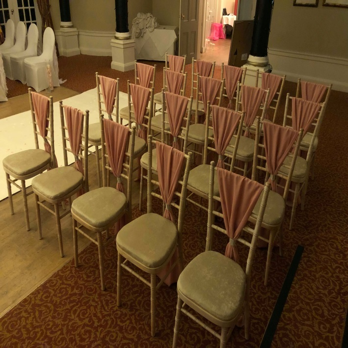 Wedding Aberdeen Aberdeenshire Chiavari Chair Pittodrie House