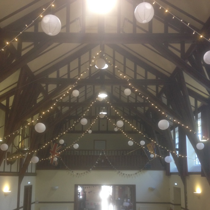 Victory Hall Wedding Aberdeen Aberdeenshire Fairy Lights