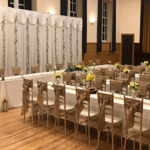 Wedding Aberdeen Aberdeenshire Chiavari Chair Udny Hall
