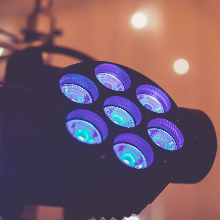 Moving Head Wash Lighting Stage